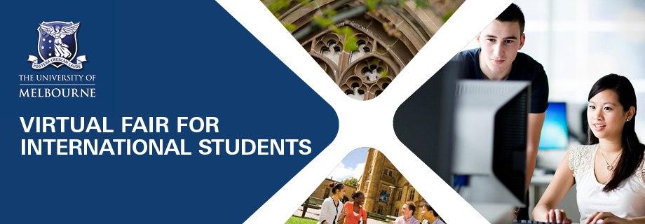 Incontra University of Melbourne!<br>Quando? Il 15 Ottobre…