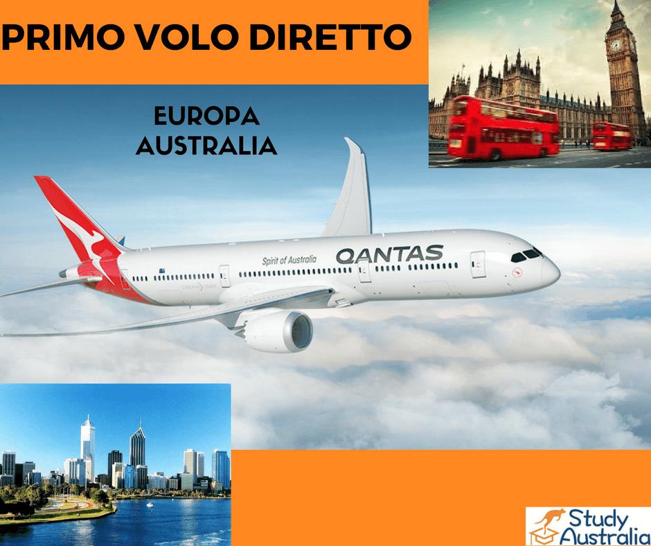 Qantas lancia la nuova tratta Londra-Perth: dal 2018 voli diretti fra Europa e Australia
