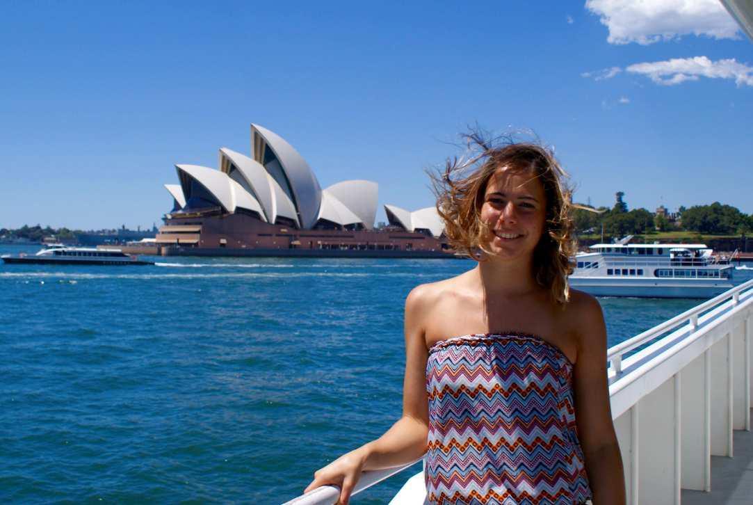 Caterina in Australia