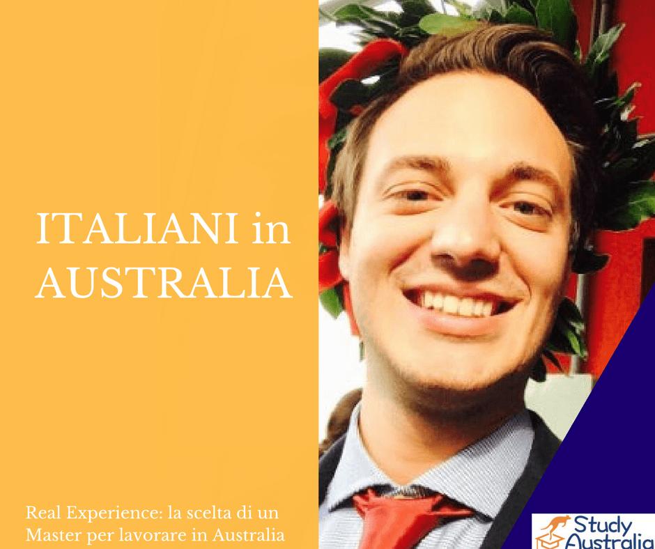 ITALIANI IN AUSTRALIA. Andrea S: Lavorare in Australia come Ingegnere partendo da un Master