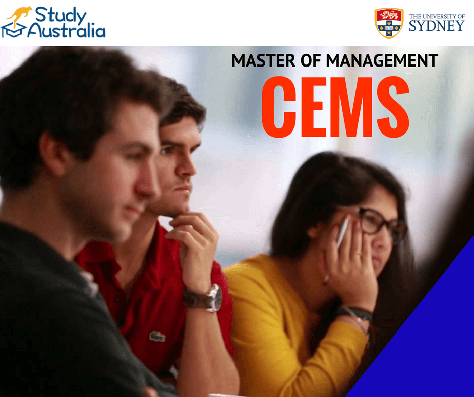 Master of Management (CEMS): University of Sydney