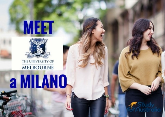 Incontro University of Melbourne a Milano