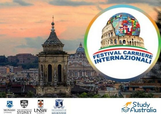 Study Australia al Festival delle Carriere Internazionali 2018