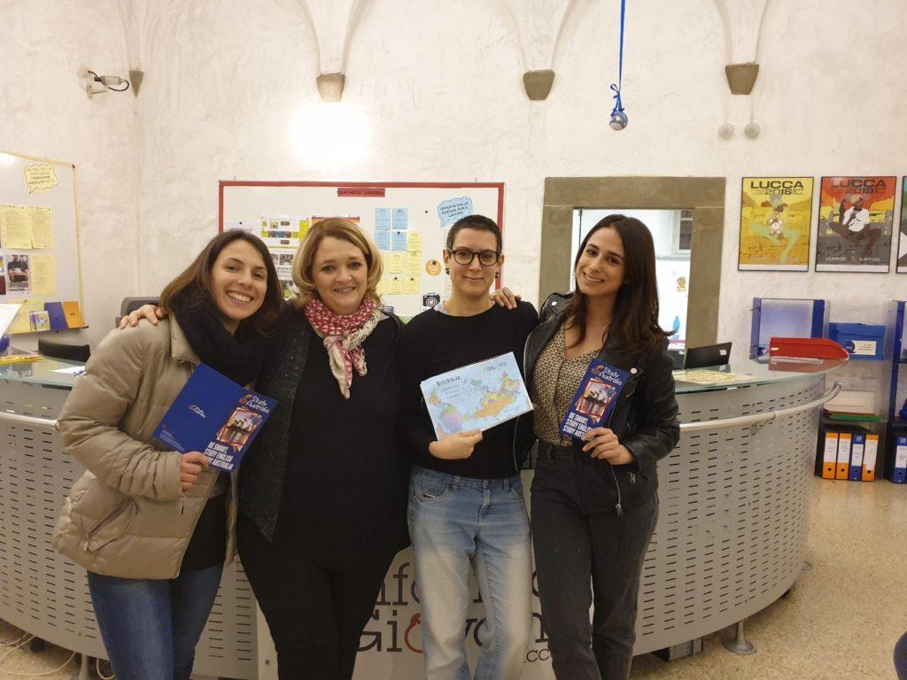 Study Australia a Lucca. Il 5 marzo partecipa all'incontro LAVORO & STUDIO in Australia.