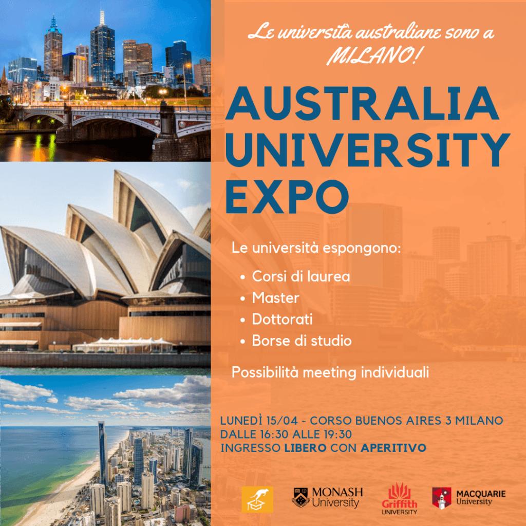 AUSTRALIA UNIVERSITY EXPO 2019