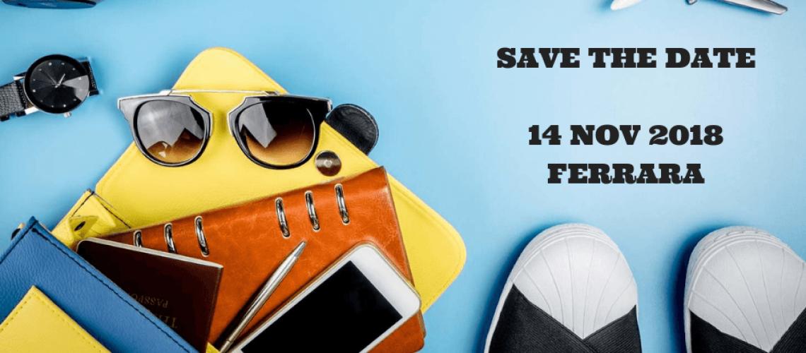 SAVE THE DATE14 NOV 2018FERRARA